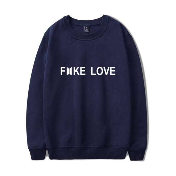 BTS Fake Love Oversized Pullover
