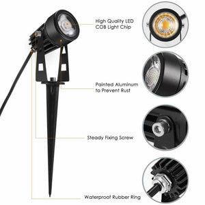 Aldermax 12V LED Plug and Play Garden Spot Light
