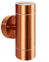 Copper Range Wall Light Up / Down 12V LED Plug and Play Garden Light