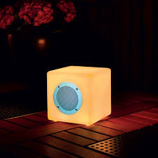 Smooz Cube 15 Music Speaker and Colour Changing LED Light