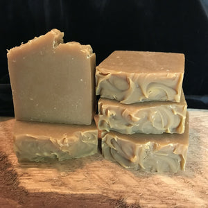 Citrus Clove beer soap