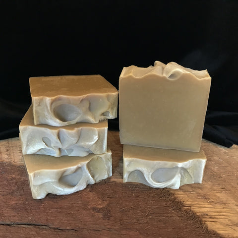 Handmade beer soap