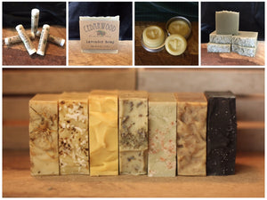 Cedarwood Soap Gift Card
