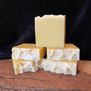 Grapefruit peppermint handmade soap