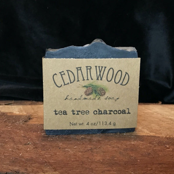 Handmade Tea Tree Charcoal soap