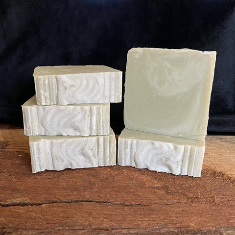 Handmade, vegan Eucalyptus Spearmint soap