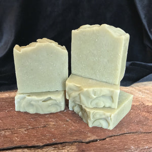 Cedarwood Oatmeal handmade soap