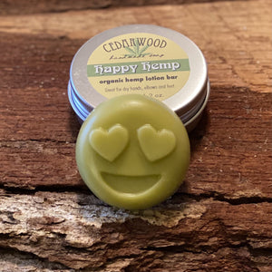 Hemp seed oil lotion bars