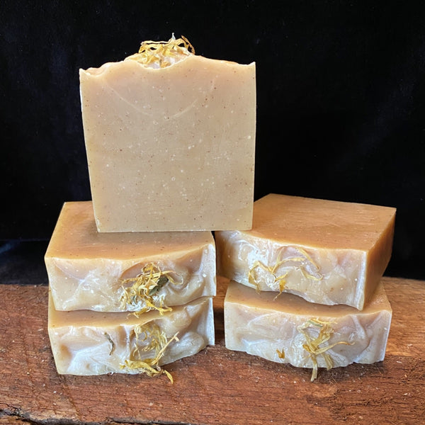 Orange Marigold soap