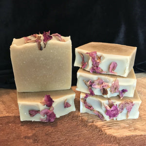 Rose Petals handmade soap