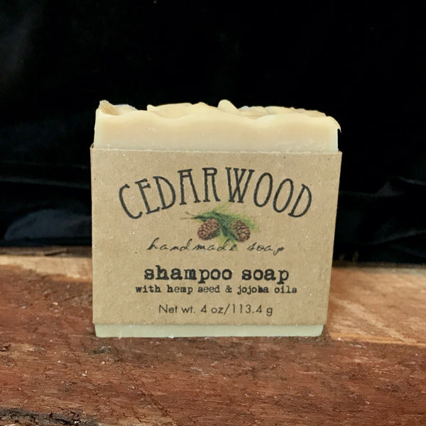 Shampoo hand made beer soap