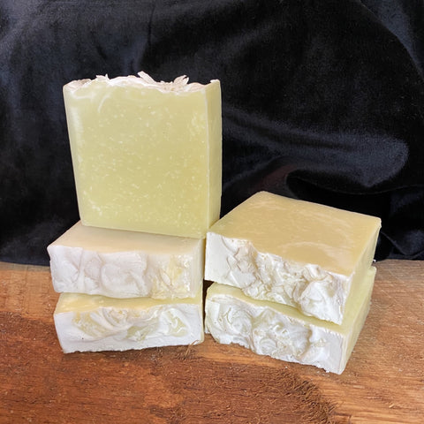 Lime coconut handmade soap