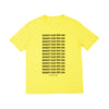 Short Sleeve What Can We Do T-Shirt Yellow - Community Clothing