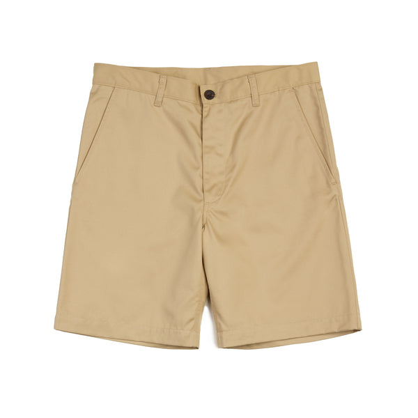 Men's Classic Shorts Khaki-01 - Community Clothing
