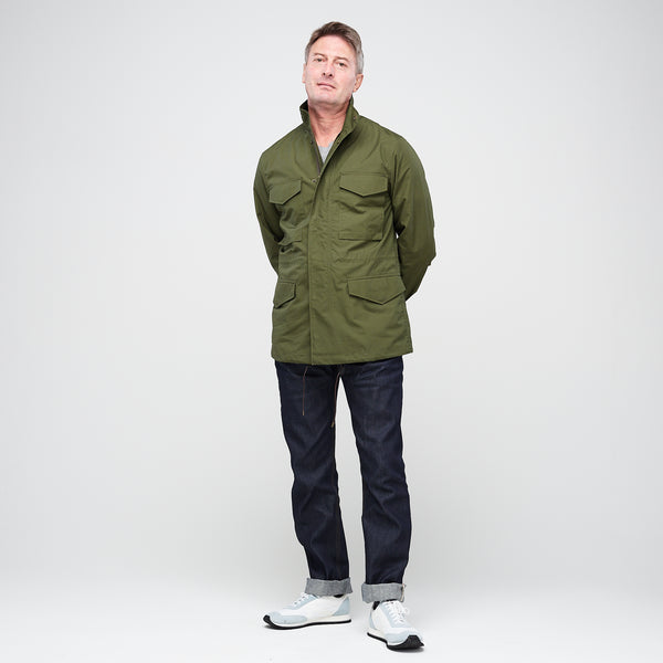 Men's Field Jacket Olive - Community Clothing