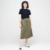 Women's Midi Skirt Olive - Community Clothing