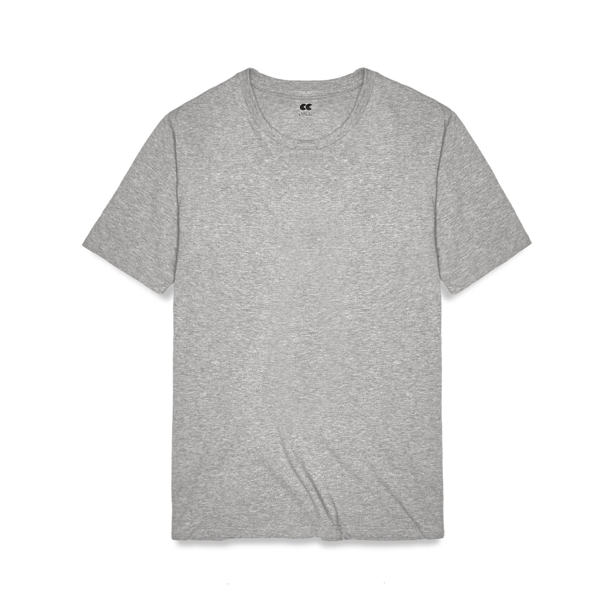 Women's Classic T-Shirt Grey Marl - Community Clothing