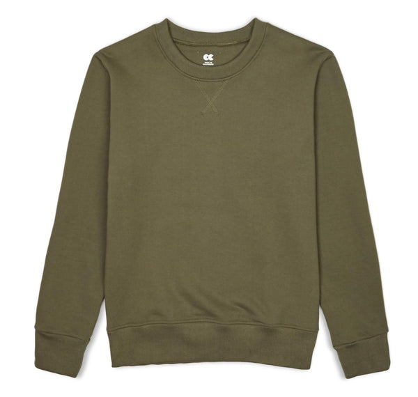Unisex Sweatshirt Olive - Community Clothing