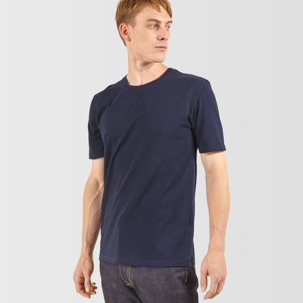 Men's Short Sleeve T-Shirt Navy - Community Clothing