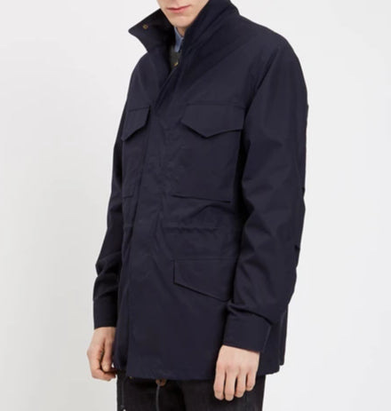 Men's Field Jacket Navy