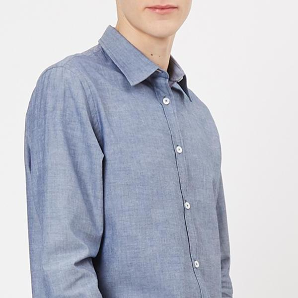 Men's Regular Shirt Chambray