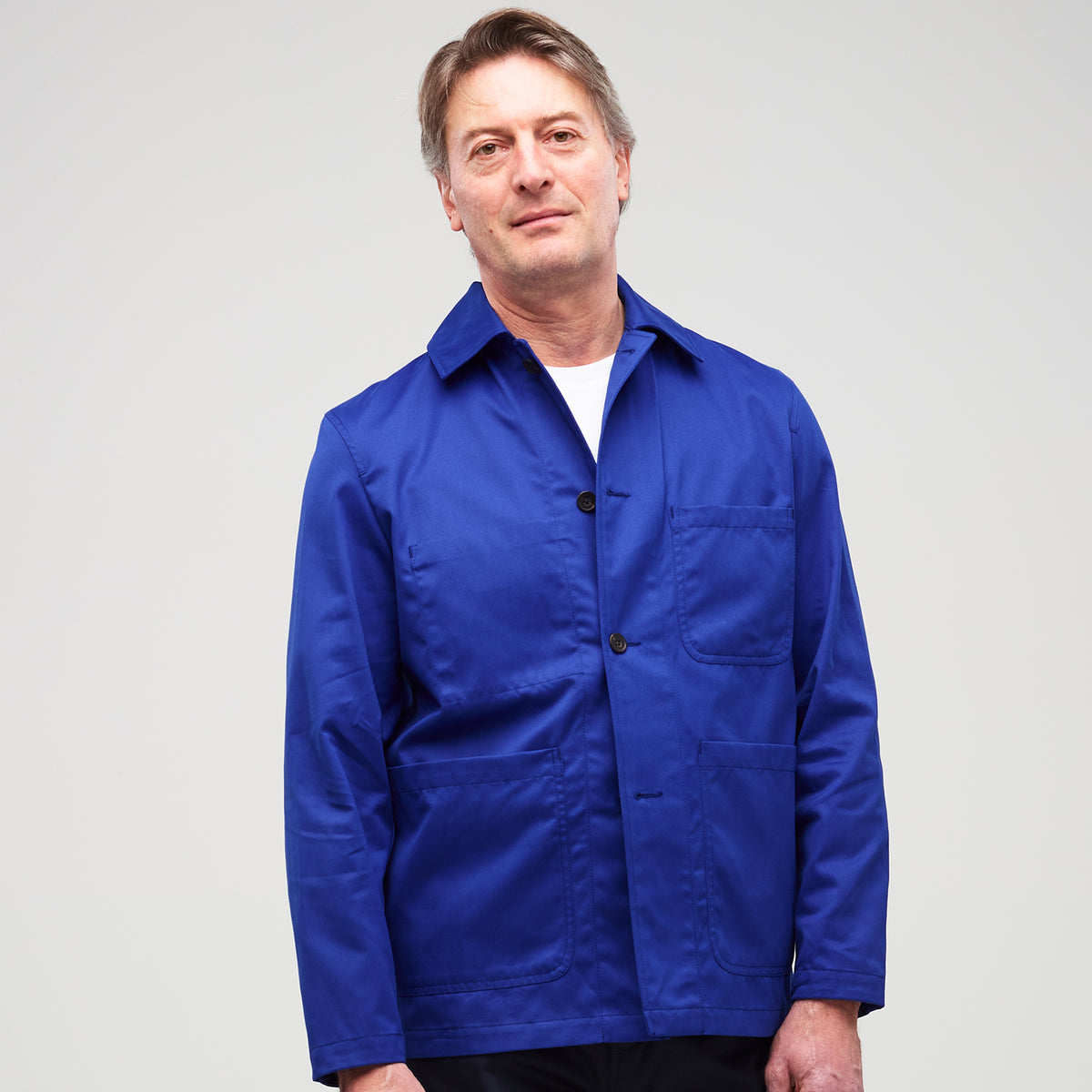 Men's Chore Jacket Royal Blue - Community Clothing