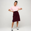 Women's Cord Jean Skirt Plum - Community Clothing
