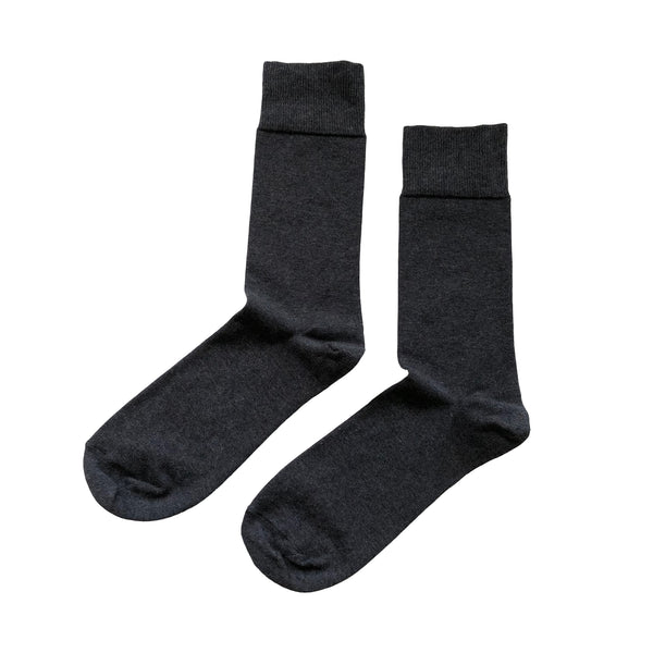 Sock - Plain - Grey - Community Clothing