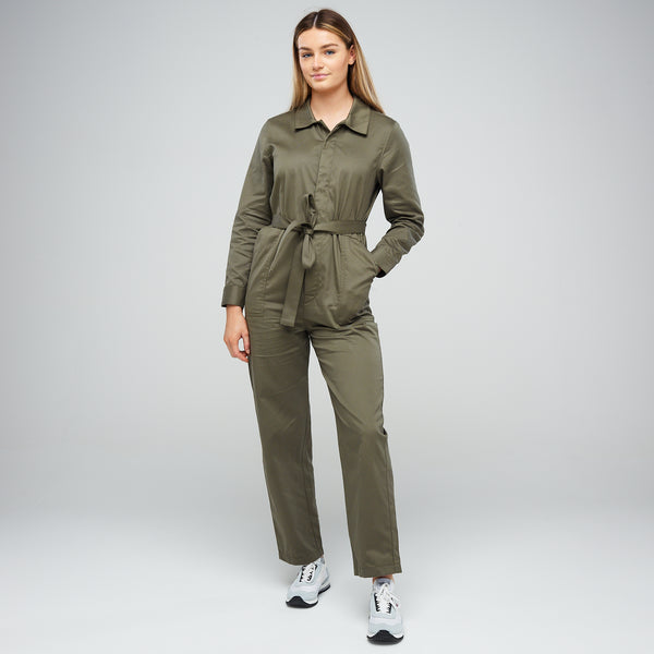 Women's Jumpsuit Olive - Community Clothing