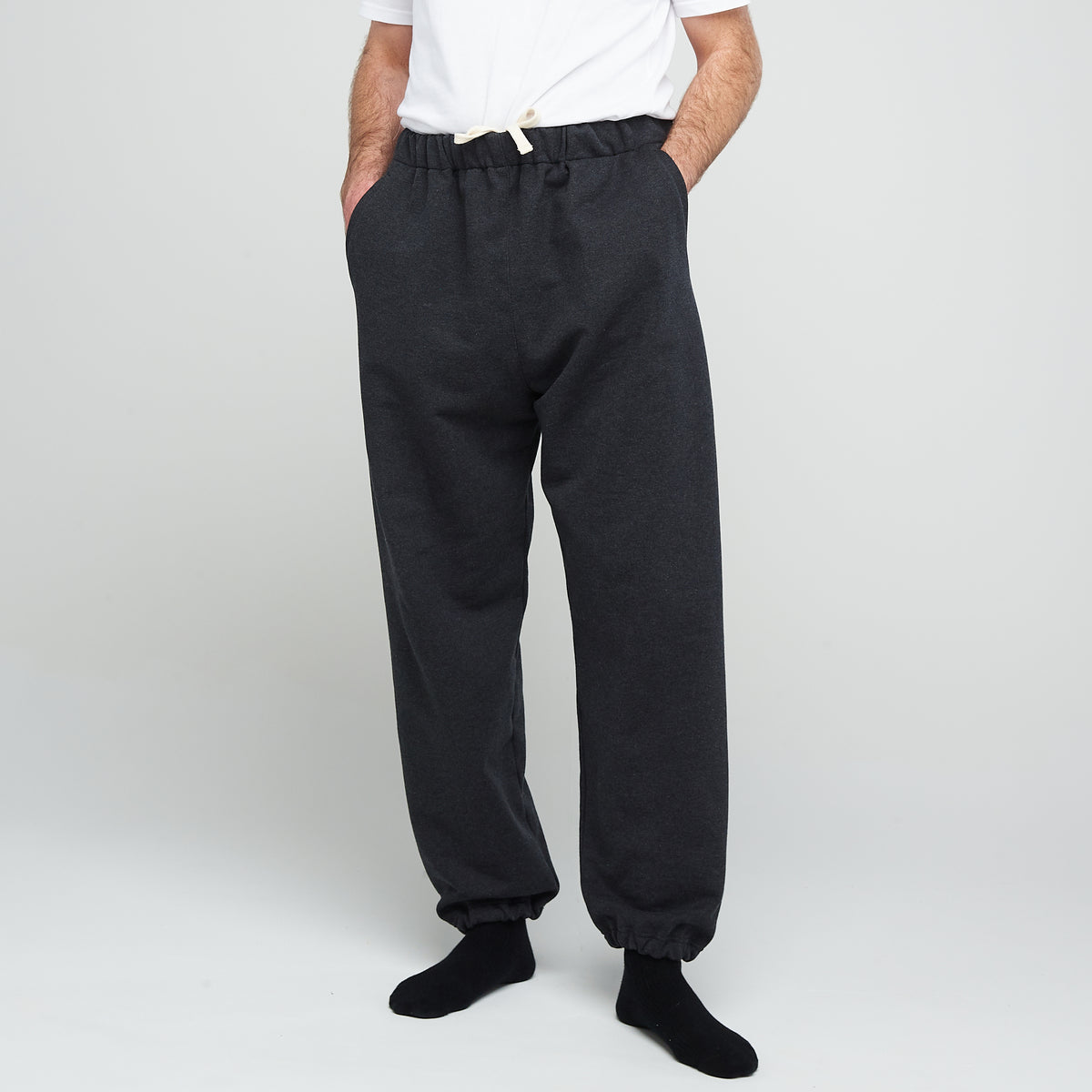 Men's Sweatpants Charcoal - Community Clothing