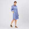Collared Shirt Dress - Blue - Community Clothing