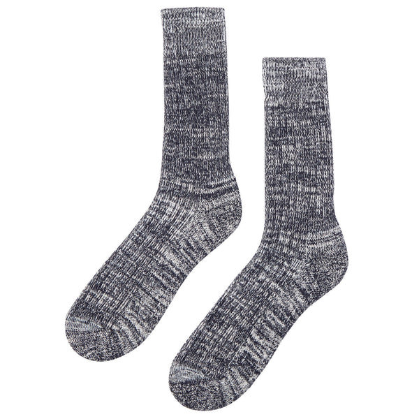 Walking Socks Navy/White - Community Clothing