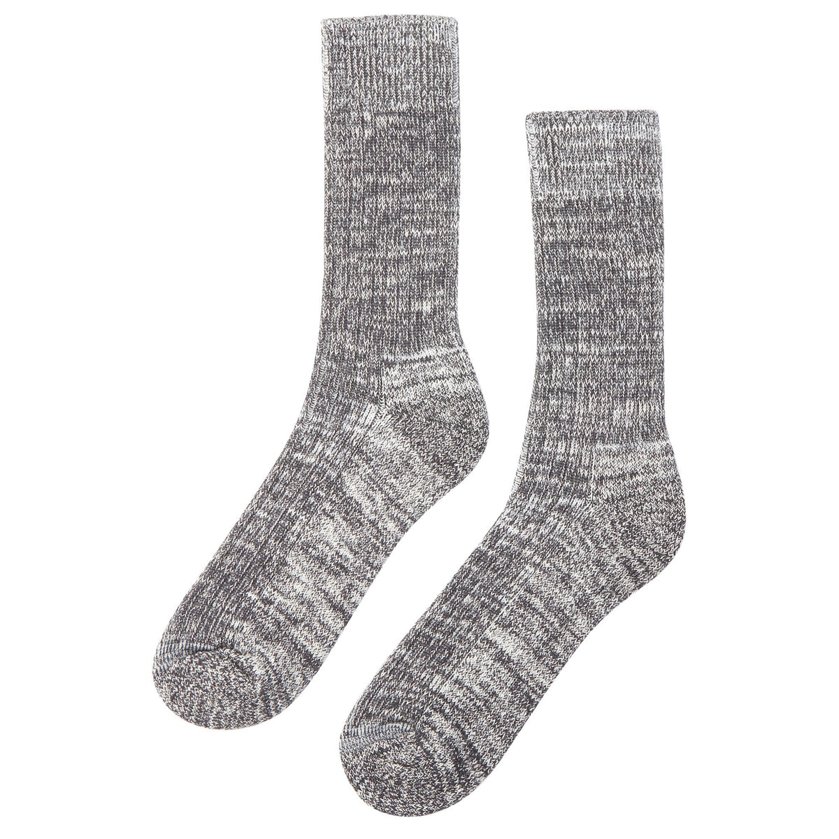 Walking Socks Slate/White - Community Clothing