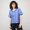 Women's Boyfriend Shirt Blue - Community Clothing