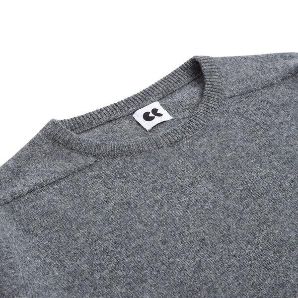 Crew Neck Jumper Grey