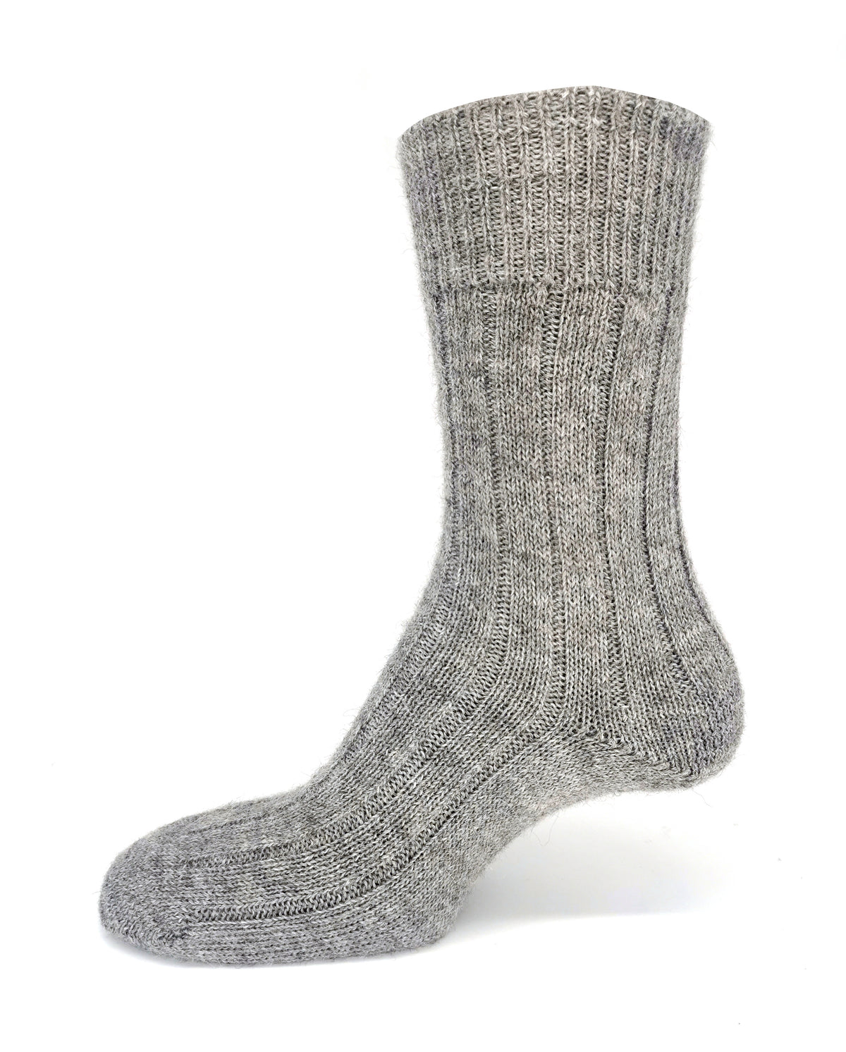 Alpaca Socks Grey - Community Clothing