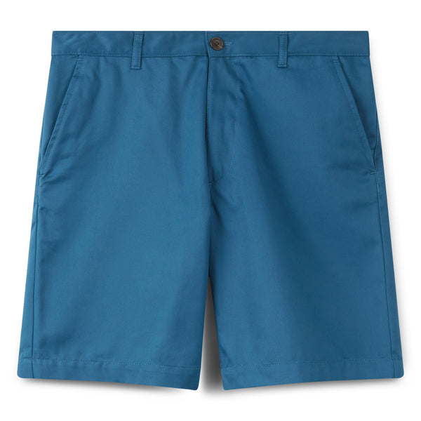 Men's Cotton Shorts - Classic - Blue Teal - Community Clothing