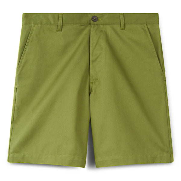 Men's Cotton Shorts - Classic - Green - Community Clothing