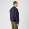 Men's Collared Harrington Jacket Navy