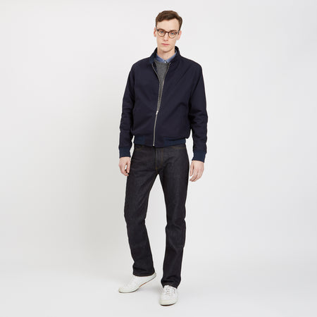 Men's Harrington Jacket Navy