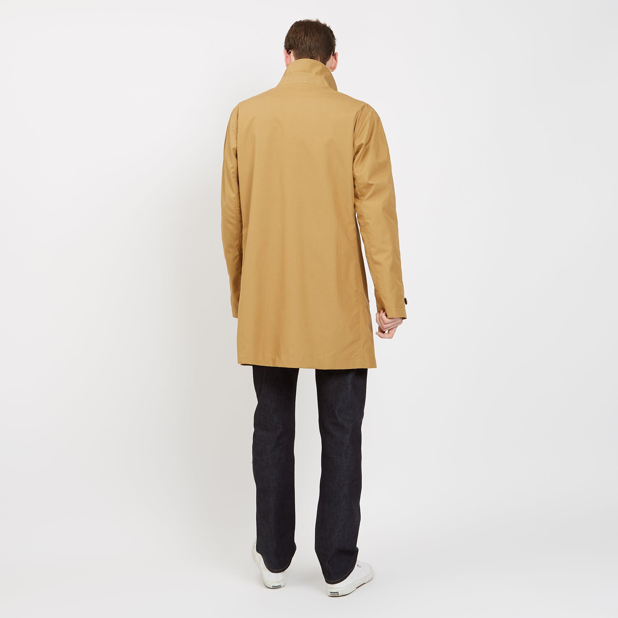 d3e3ec438e ... Men's Raincoat Camel - Community Clothing ...