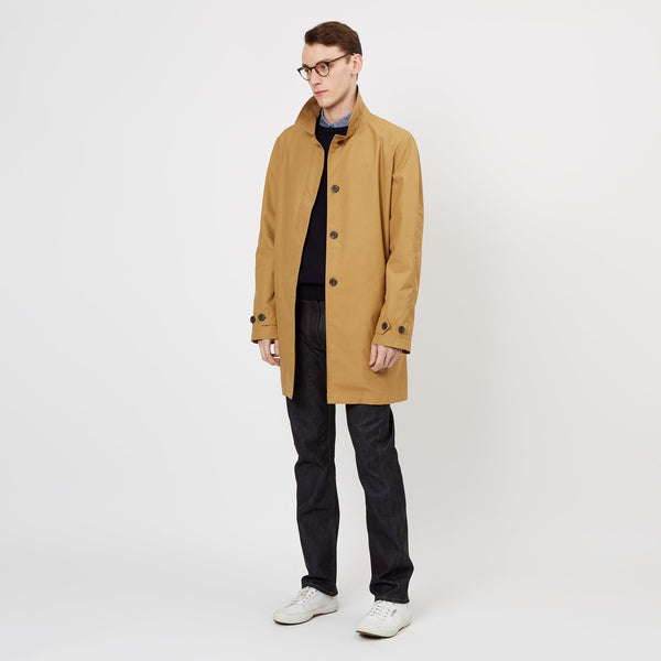 Men's Raincoat Camel - Community Clothing