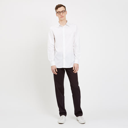 Men's Regular Shirt White - Community Clothing
