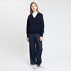 Lambswool V Neck Jumper Navy - Community Clothing