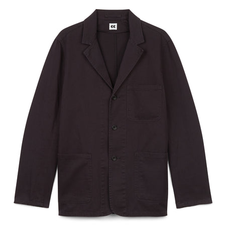 Men's Cotton Jacket Navy - Community Clothing