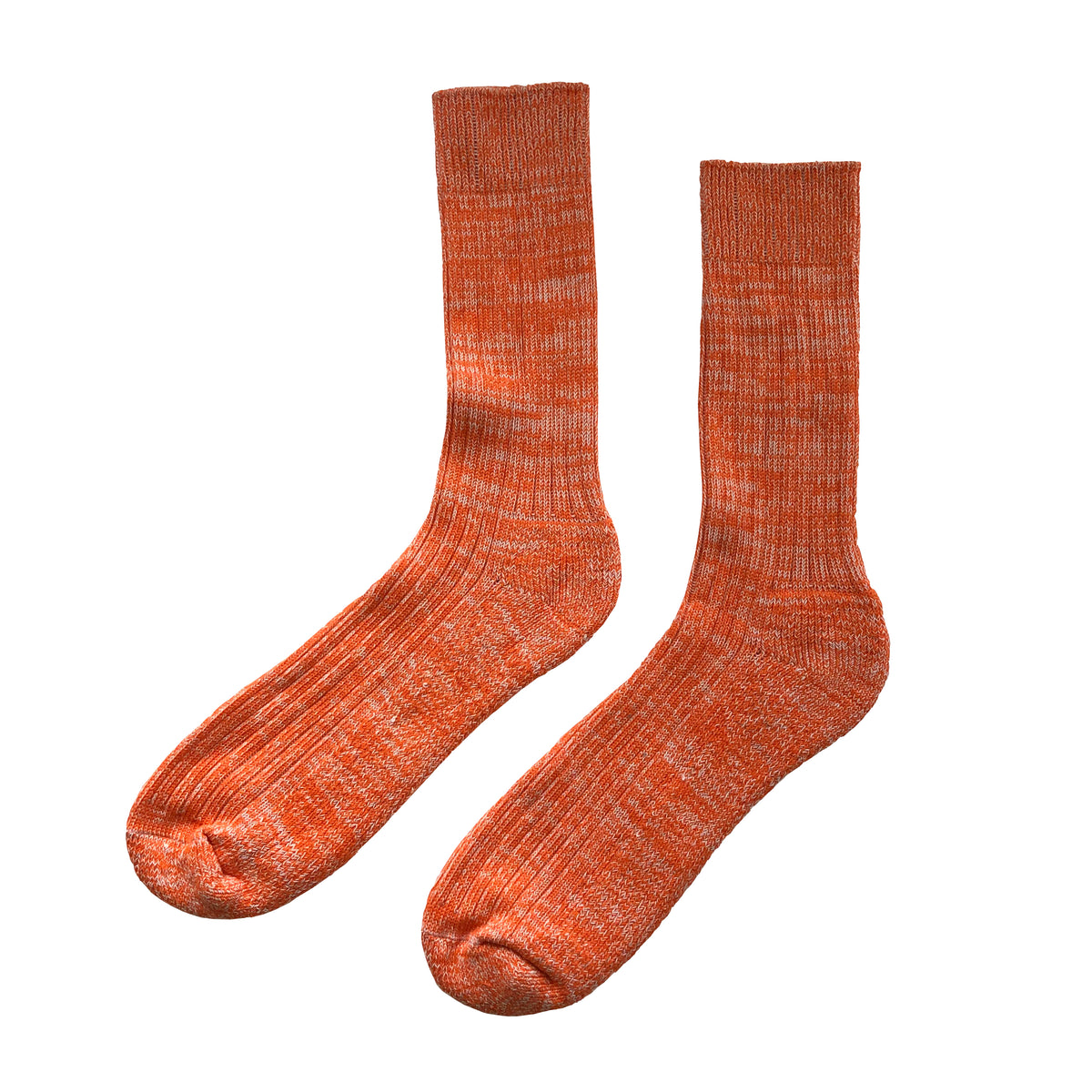 Walking Socks Orange/White - Community Clothing