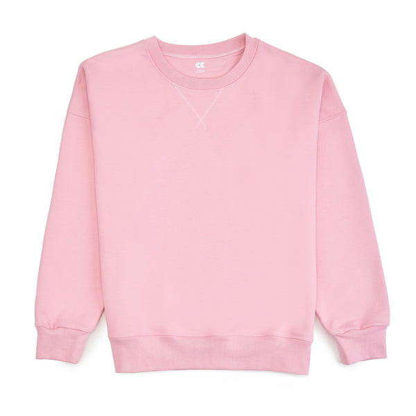 Women's Drop Shoulder Pink - Community Clothing