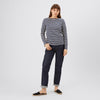 Women's Stripe Breton Navy/Ecru - Community Clothing