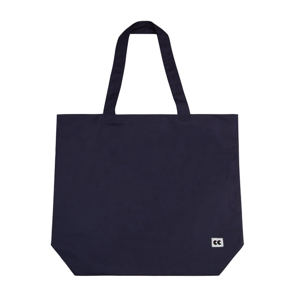 Plain Tote Bag Navy - Community Clothing