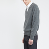 V Neck Jumper Grey